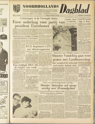 Noordhollands Dagblad : dagblad voor Alkmaar en omgeving 1958-11-06