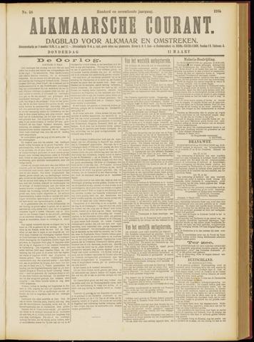 Alkmaarsche Courant 1915-03-11