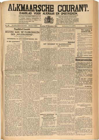 Alkmaarsche Courant 1934-12-18