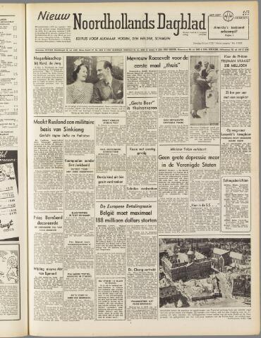 Nieuw Noordhollandsch Dagblad : voor Alkmaar en omgeving 1950-06-20