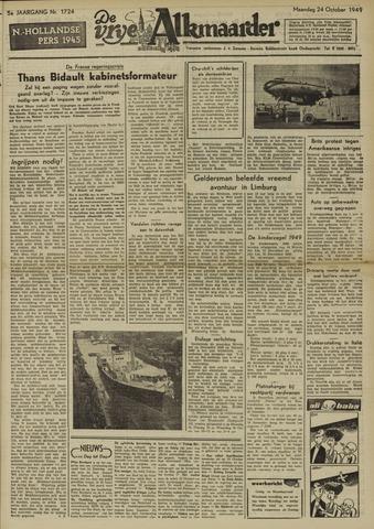 De Vrije Alkmaarder 1949-10-24