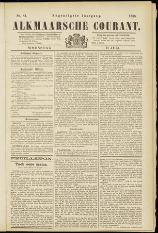 Alkmaarsche Courant 1888-07-11