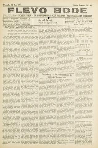 Flevo-bode: nieuwsblad voor Wieringen-Wieringermeer 1946-06-12