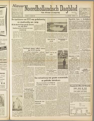 Nieuw Noordhollandsch Dagblad : voor Alkmaar en omgeving 1947-03-31