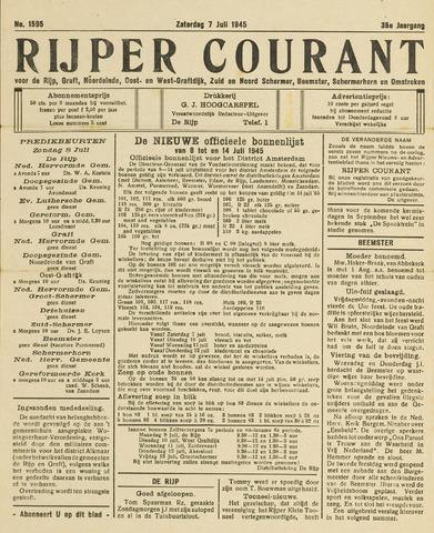 Rijper Courant 1945-07-07