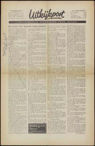 Uitkijkpost : nieuwsblad voor Heiloo e.o. 1956-10-12