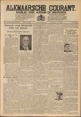 Alkmaarsche Courant 1939-01-13
