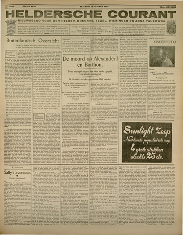 Heldersche Courant 1934-10-13