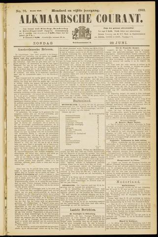 Alkmaarsche Courant 1903-06-28