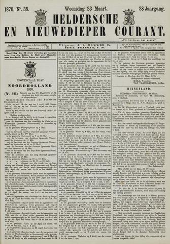 Heldersche en Nieuwedieper Courant 1870-03-23