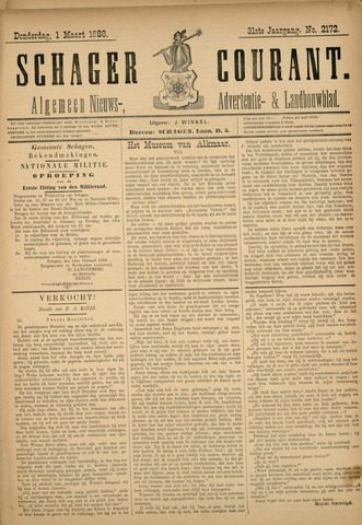 Schager Courant 1888-03-01