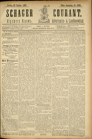 Schager Courant 1895-10-20