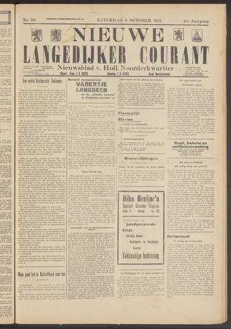 Nieuwe Langedijker Courant 1932-10-08