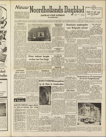 Nieuw Noordhollandsch Dagblad : voor Alkmaar en omgeving 1951-12-21