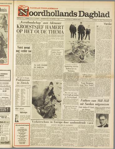 Noordhollands Dagblad : dagblad voor Alkmaar en omgeving 1962-12-28