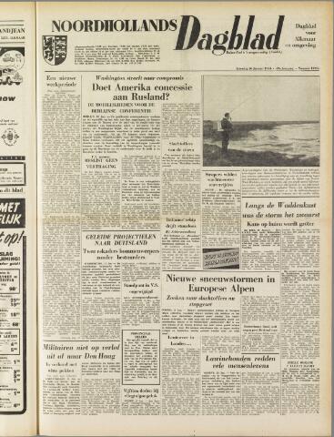 Noordhollands Dagblad : dagblad voor Alkmaar en omgeving 1954-01-16