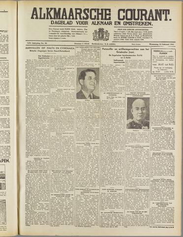 Alkmaarsche Courant 1941-02-12