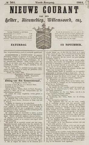 Nieuwe Courant van Den Helder 1864-11-12