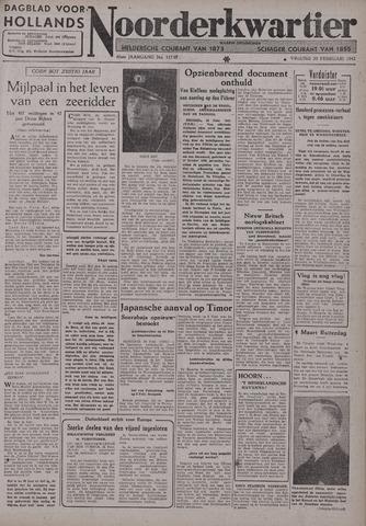 Dagblad voor Hollands Noorderkwartier 1942-02-20