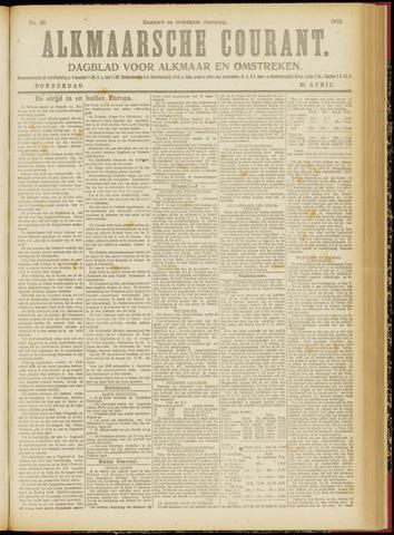 Alkmaarsche Courant 1918-04-25