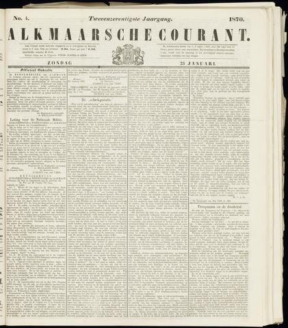Alkmaarsche Courant 1870-01-23