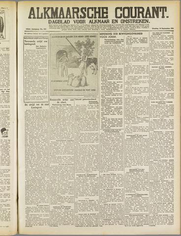 Alkmaarsche Courant 1941-09-16