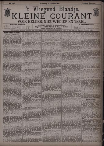Vliegend blaadje : nieuws- en advertentiebode voor Den Helder 1887-08-03