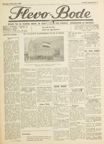 Flevo-bode: nieuwsblad voor Wieringen-Wieringermeer 1946-12-14