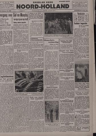 Dagblad Noord-Holland, Schager editie 1942-07-30