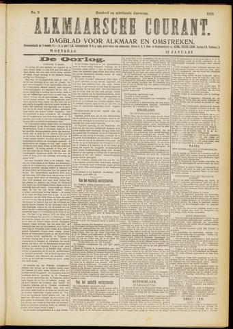 Alkmaarsche Courant 1916-01-12