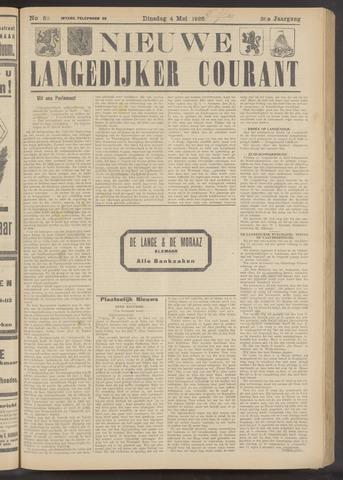 Nieuwe Langedijker Courant 1926-05-04