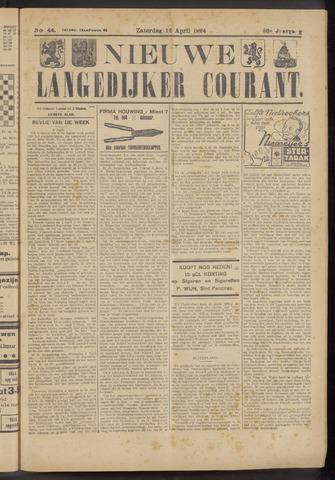 Nieuwe Langedijker Courant 1924-04-12