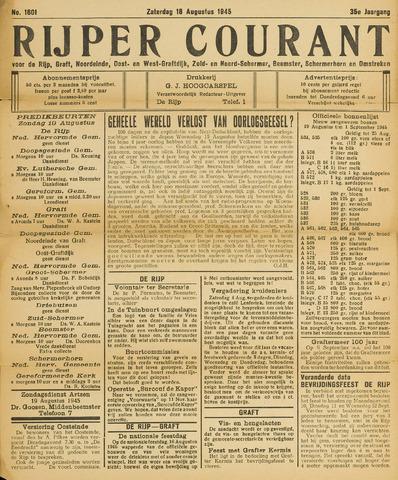Rijper Courant 1945-08-18