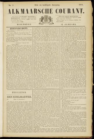 Alkmaarsche Courant 1881-01-12