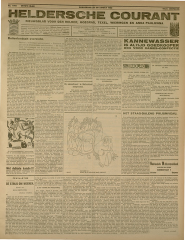 Heldersche Courant 1932-12-22