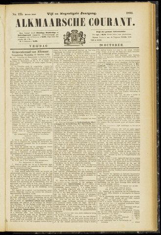 Alkmaarsche Courant 1893-10-20