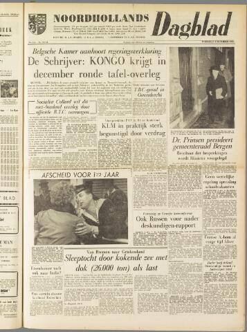 Noordhollands Dagblad : dagblad voor Alkmaar en omgeving 1959-11-04