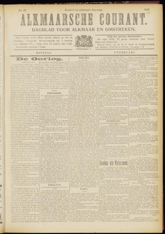 Alkmaarsche Courant 1916-02-08