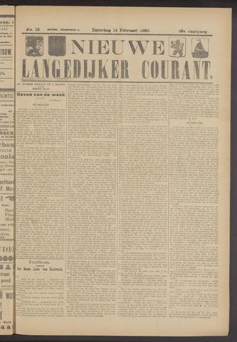Nieuwe Langedijker Courant 1920-02-14