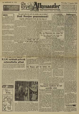 De Vrije Alkmaarder 1949-08-17
