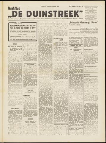 De Duinstreek 1949-09-16