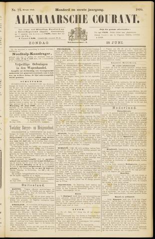 Alkmaarsche Courant 1899-06-25