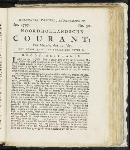 Noordhollandsche Courant 1797-07-24