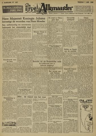 De Vrije Alkmaarder 1949-01-07