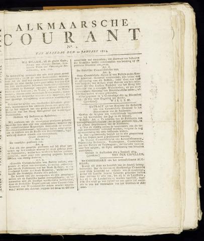 Alkmaarsche Courant 1814-01-10