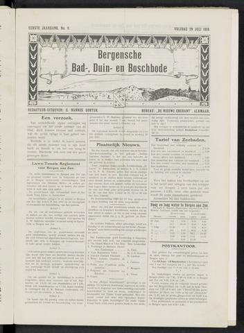 Bergensche bad-, duin- en boschbode 1910-07-29