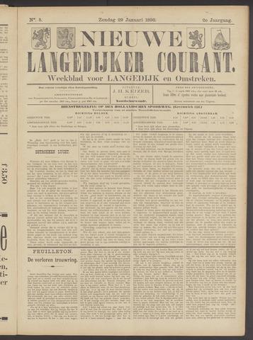 Nieuwe Langedijker Courant 1893-01-29