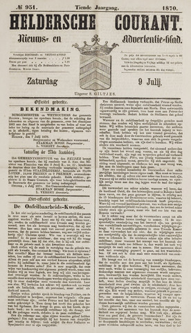 Heldersche Courant 1870-07-09