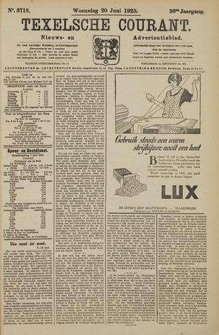 Texelsche Courant 1923-06-20
