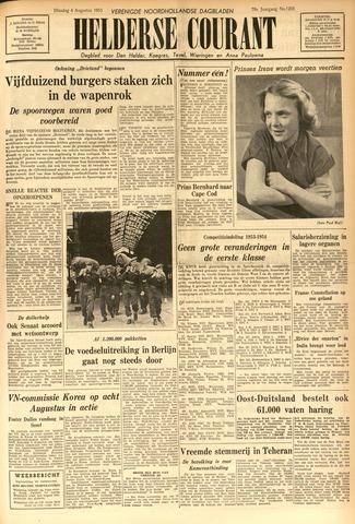 Heldersche Courant 1953-08-04